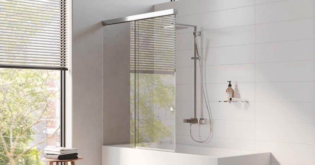 Duschabtrennung für Ihre Badewanne